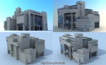 Low polygon Model: 955 Tris
