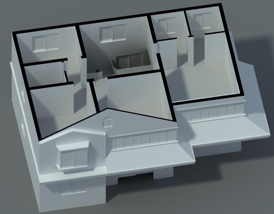Budget 3D Floor Plan